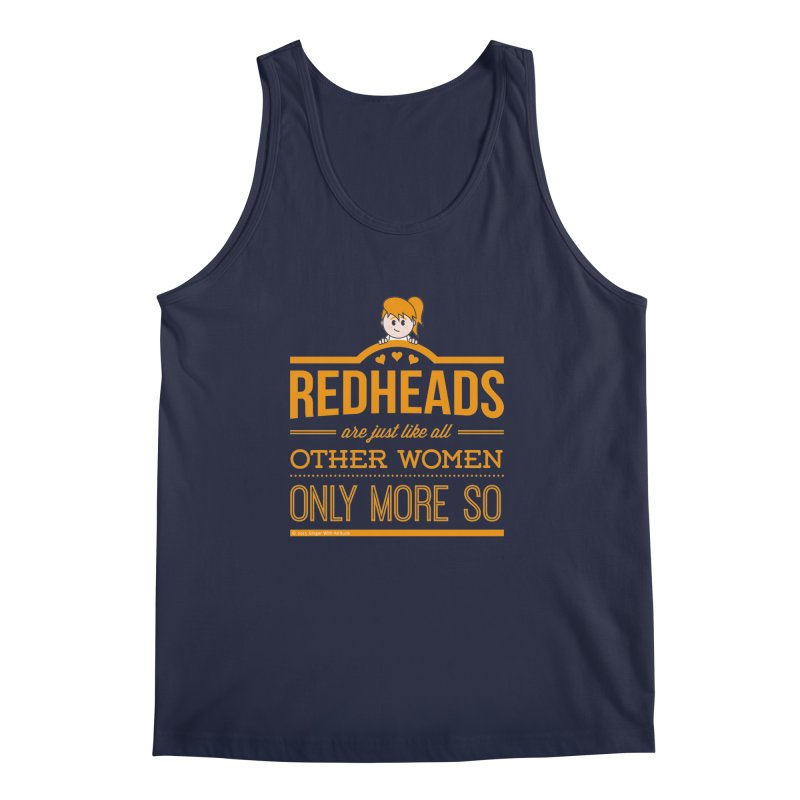 More So Men's Regular Tank by Ginger With Attitude's Artist Shop