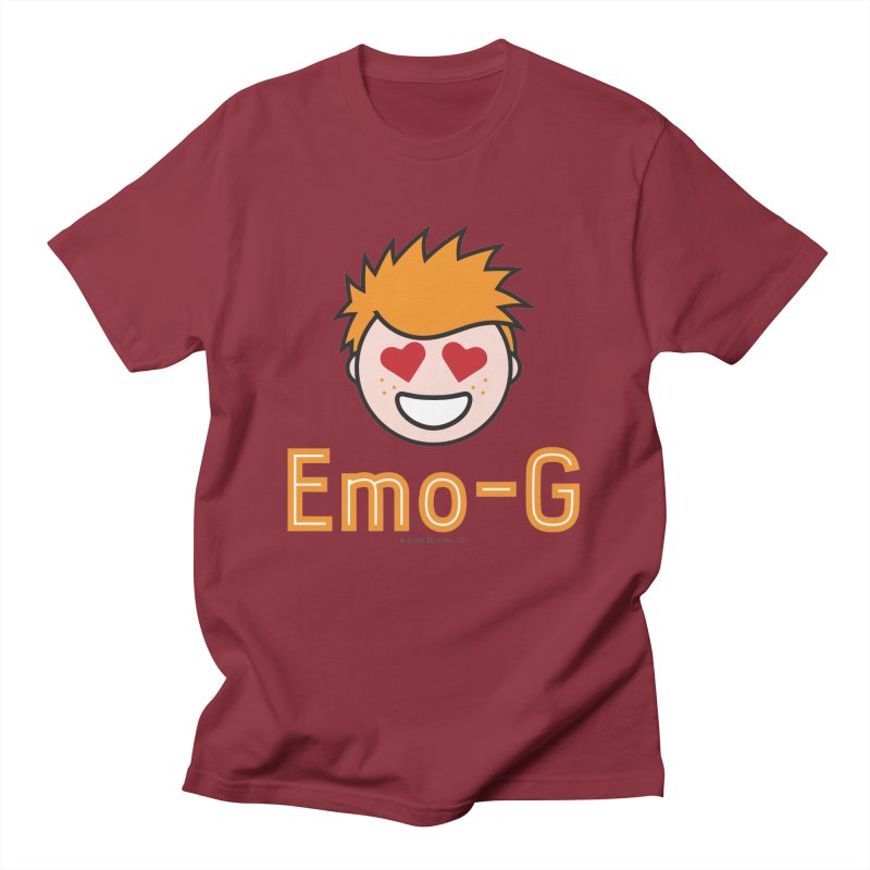 Emo-G Men's T-Shirt by Ginger With Attitude's Artist Shop