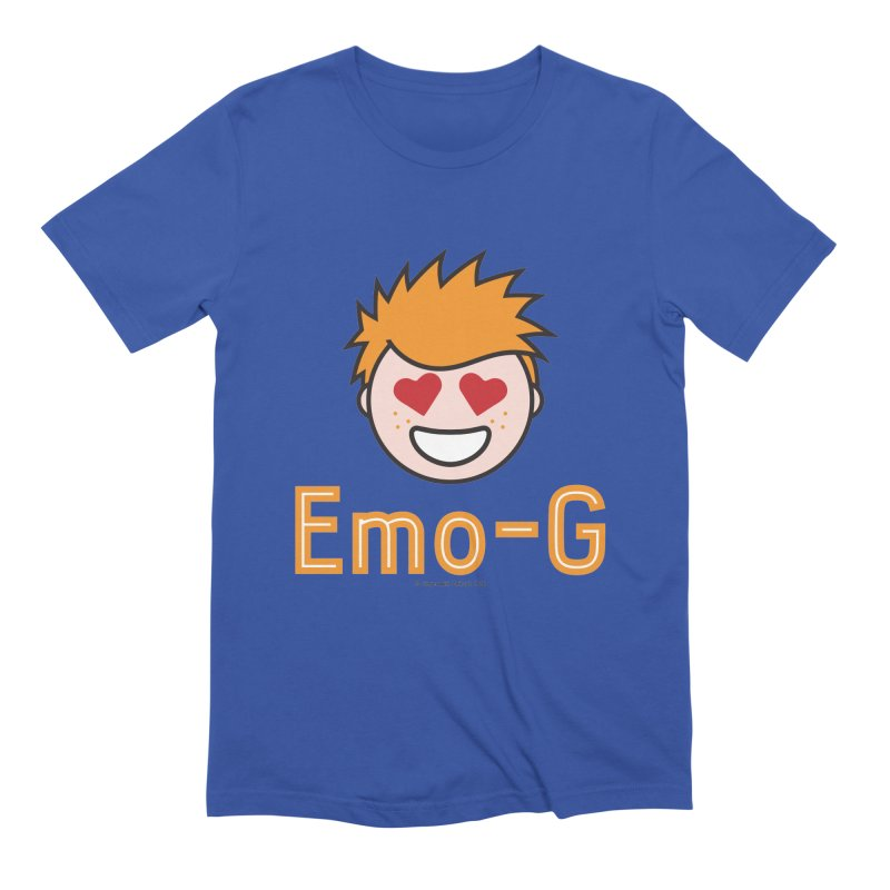 Emo-G Men's Extra Soft T-Shirt by Ginger With Attitude's Artist Shop