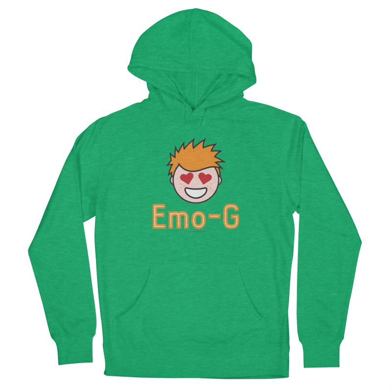 Emo-G Women's French Terry Pullover Hoody by Ginger With Attitude's Artist Shop