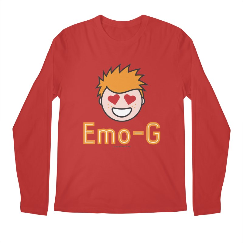 Emo-G Men's Regular Longsleeve T-Shirt by Ginger With Attitude's Artist Shop