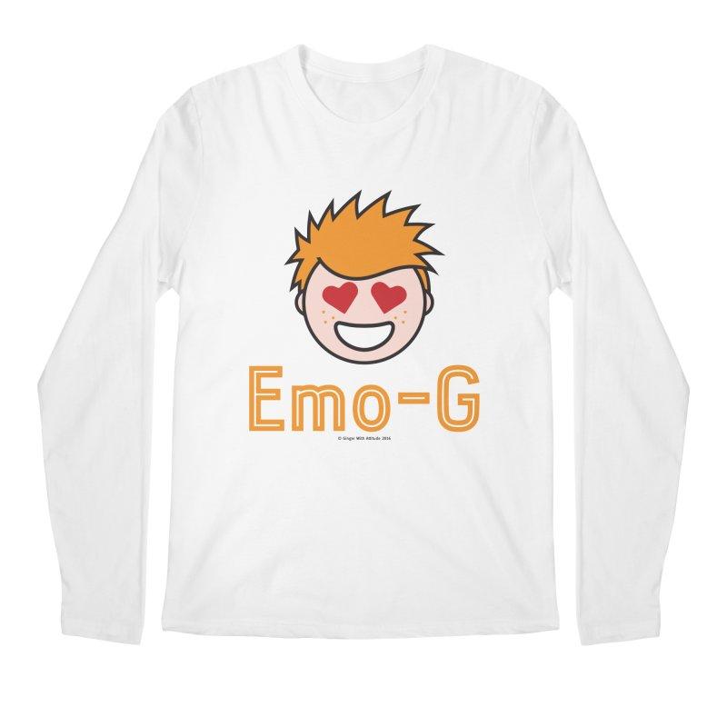 Emo-G Men's Regular Longsleeve T-Shirt by Ginger With Attitude's Artist Shop