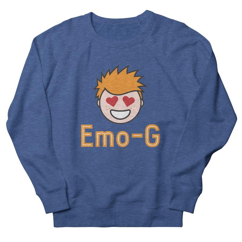 Emo-G Women's French Terry Sweatshirt by Ginger With Attitude's Artist Shop