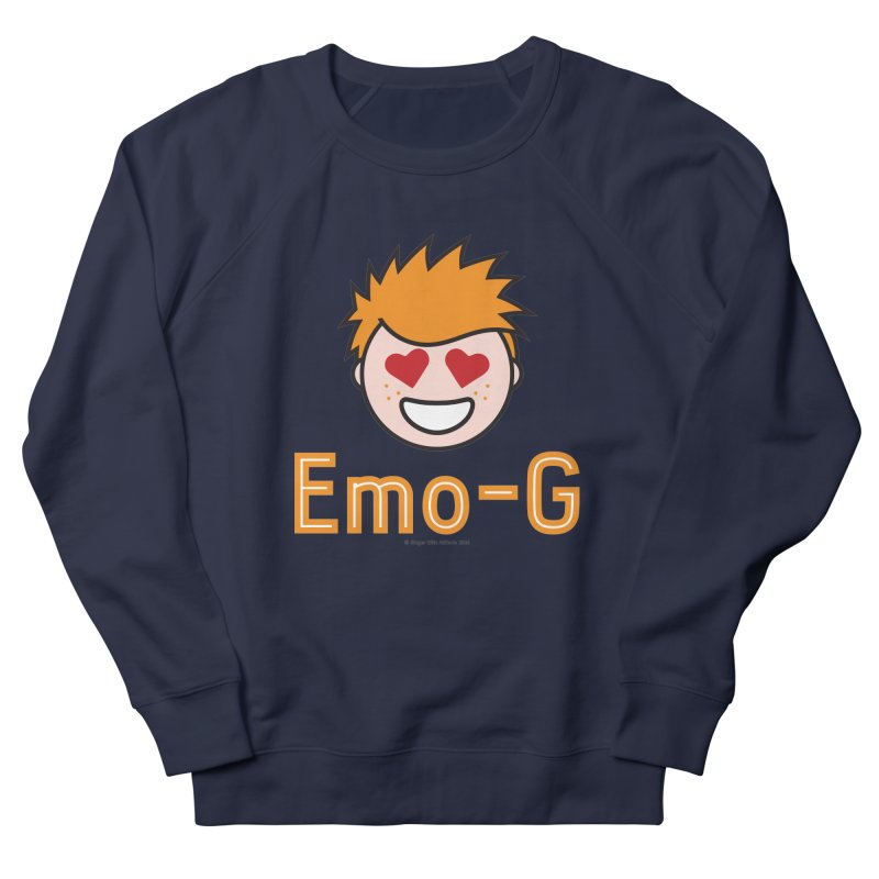 Emo-G Men's French Terry Sweatshirt by Ginger With Attitude's Artist Shop