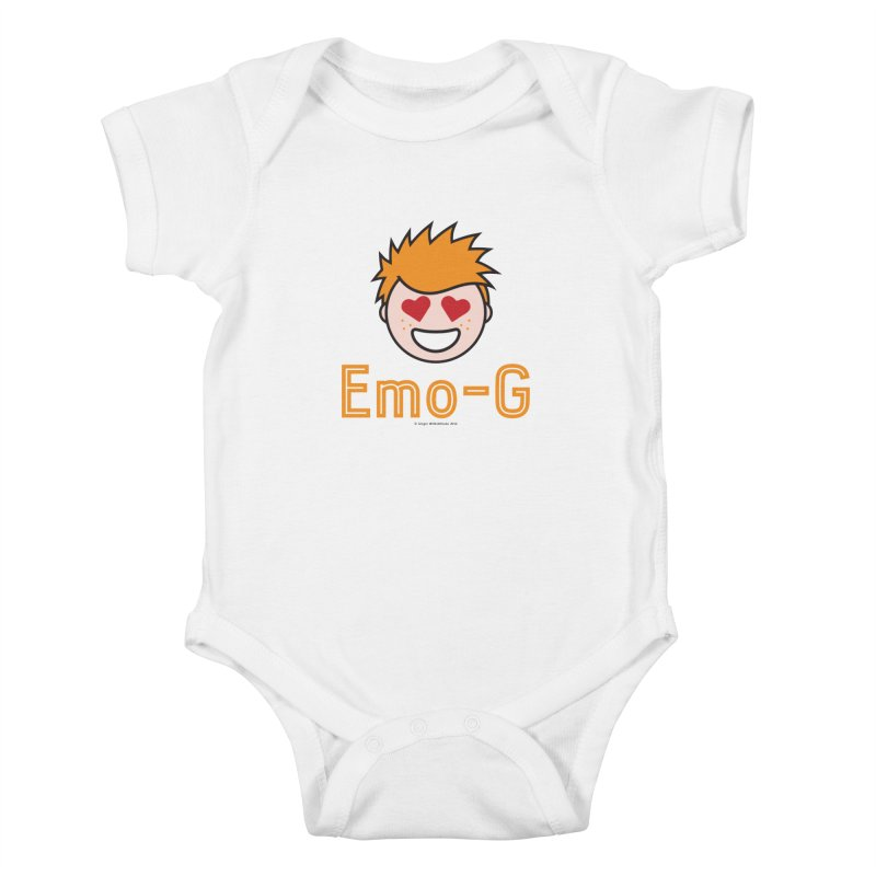 Emo-G Kids Baby Bodysuit by Ginger With Attitude's Artist Shop