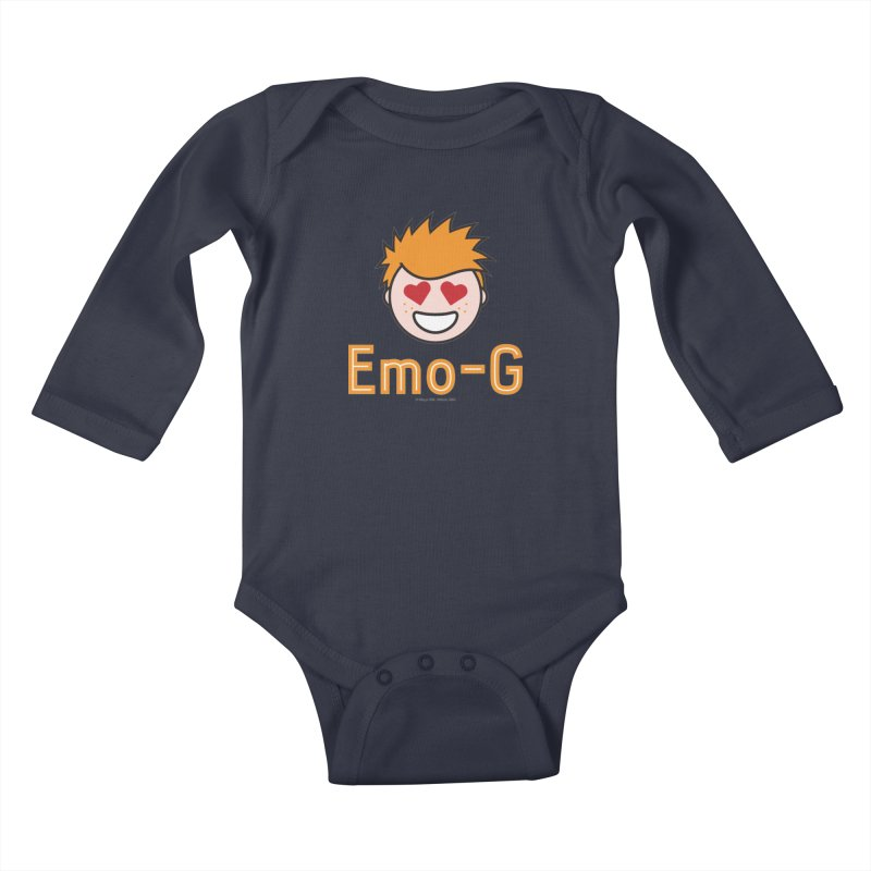 Emo-G Kids Baby Longsleeve Bodysuit by Ginger With Attitude's Artist Shop