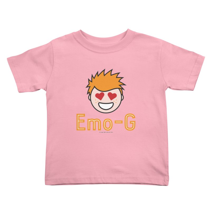Emo-G Kids Toddler T-Shirt by Ginger With Attitude's Artist Shop