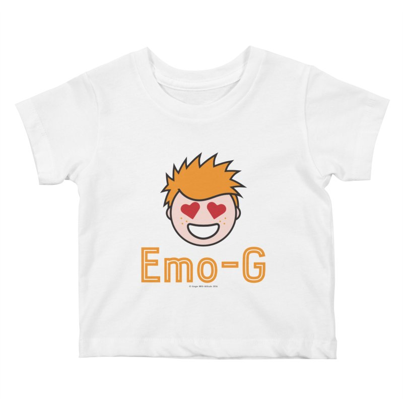 Emo-G Kids Baby T-Shirt by Ginger With Attitude's Artist Shop