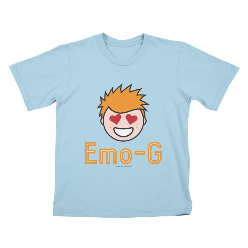 Emo-G Kids T-shirt by Ginger With Attitude's Artist Shop