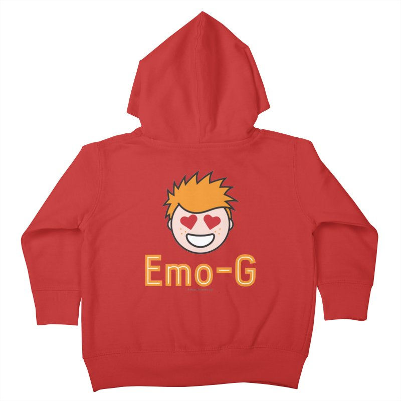 Emo-G Kids Toddler Zip-Up Hoody by Ginger With Attitude's Artist Shop