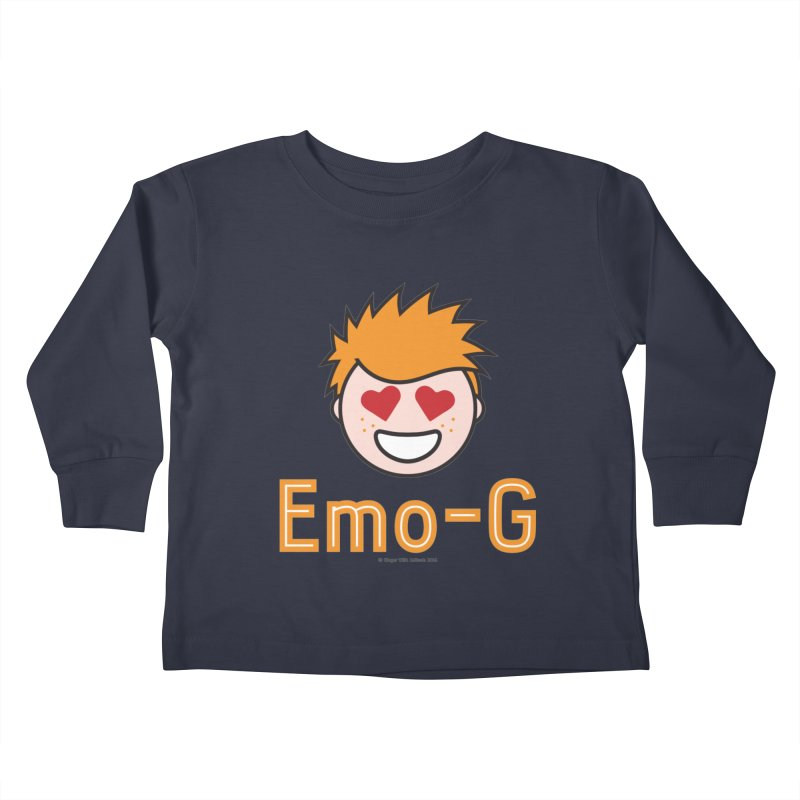 Emo-G Kids Toddler Longsleeve T-Shirt by Ginger With Attitude's Artist Shop
