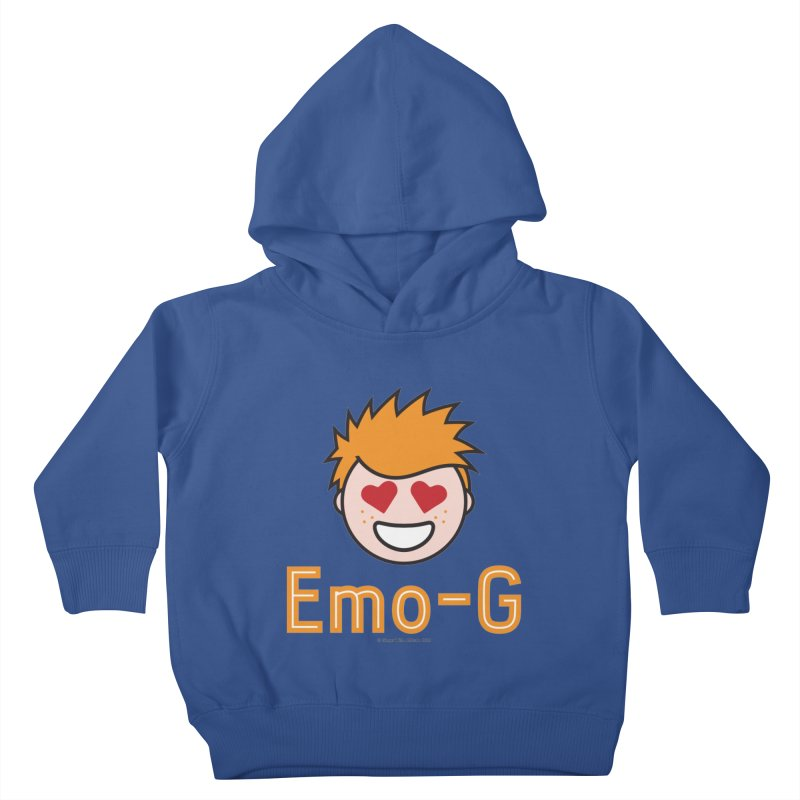 Emo-G Kids Toddler Pullover Hoody by Ginger With Attitude's Artist Shop