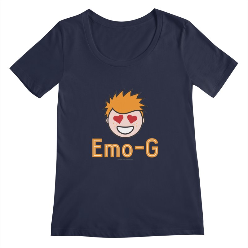 Emo-G Women's Regular Scoop Neck by Ginger With Attitude's Artist Shop