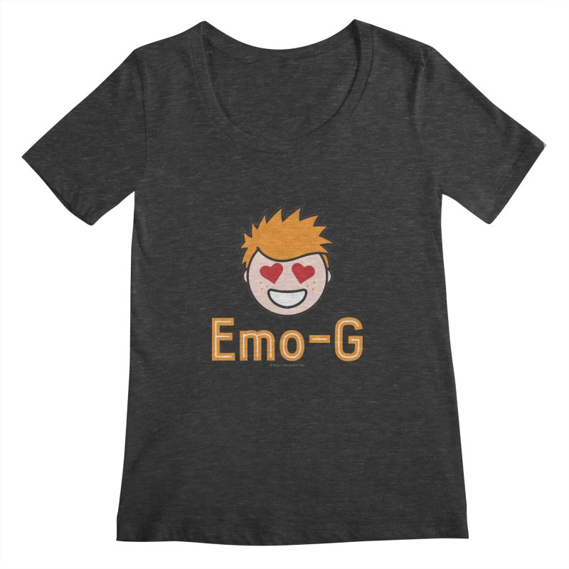 Emo-G Women's Scoopneck by Ginger With Attitude's Artist Shop