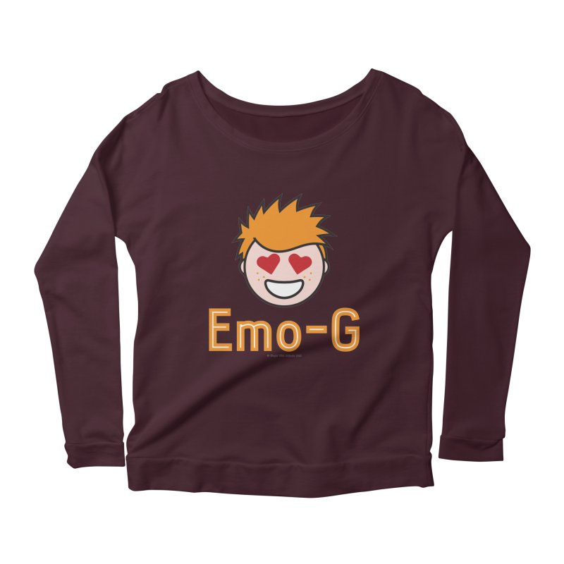 Emo-G Women's Scoop Neck Longsleeve T-Shirt by Ginger With Attitude's Artist Shop