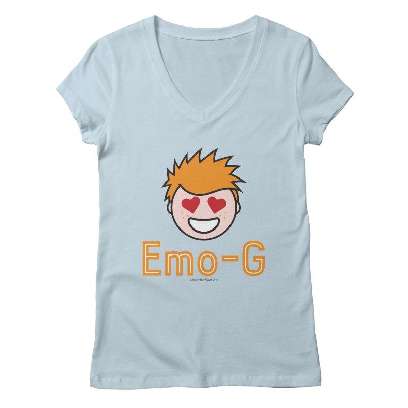 Emo-G Women's Regular V-Neck by Ginger With Attitude's Artist Shop