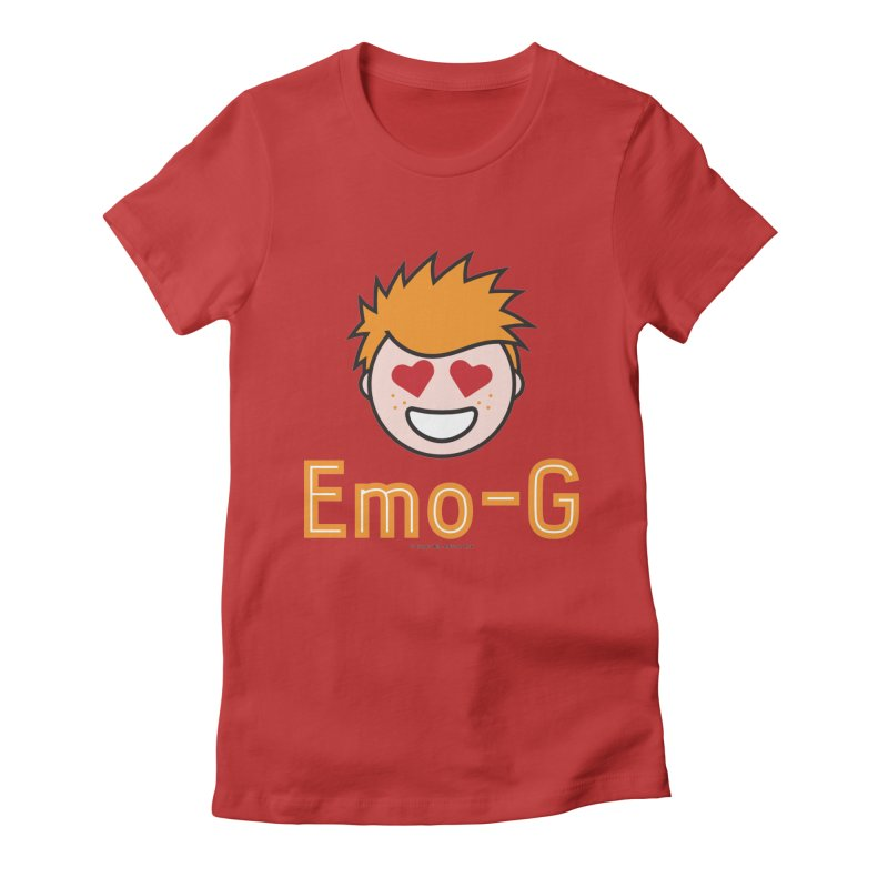 Emo-G Women's Fitted T-Shirt by Ginger With Attitude's Artist Shop