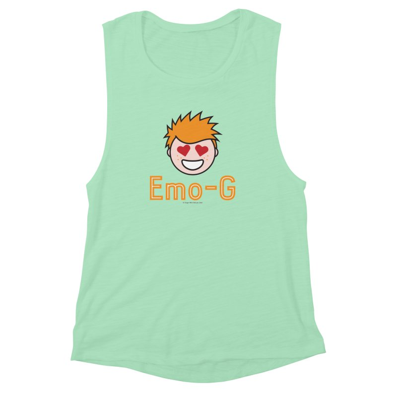 Emo-G Women's Muscle Tank by Ginger With Attitude's Artist Shop