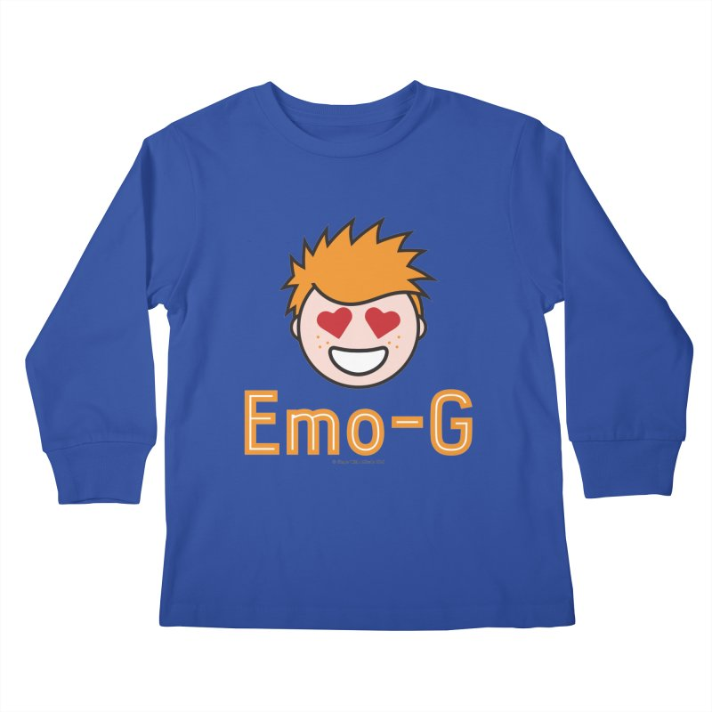 Emo-G Kids Longsleeve T-Shirt by Ginger With Attitude's Artist Shop
