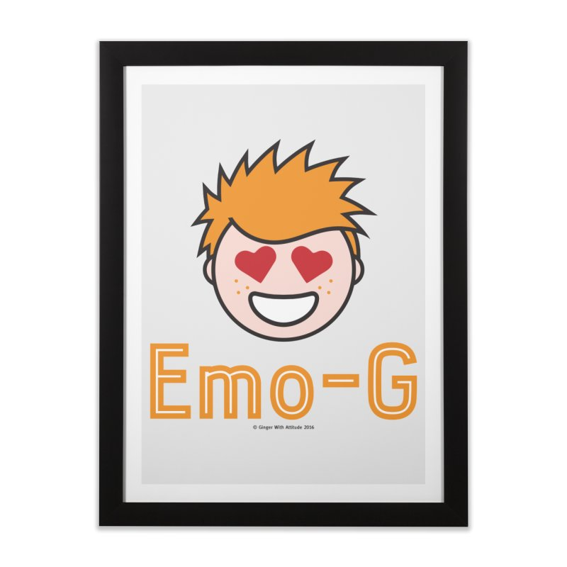 Emo-G Home Framed Fine Art Print by Ginger With Attitude's Artist Shop