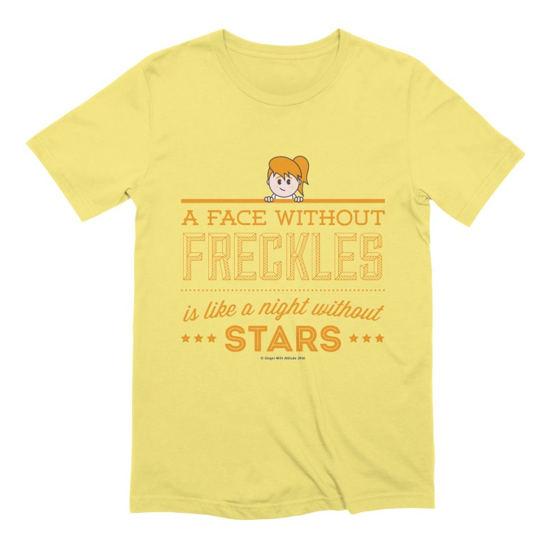 Stars Men's Extra Soft T-Shirt by Ginger With Attitude's Artist Shop