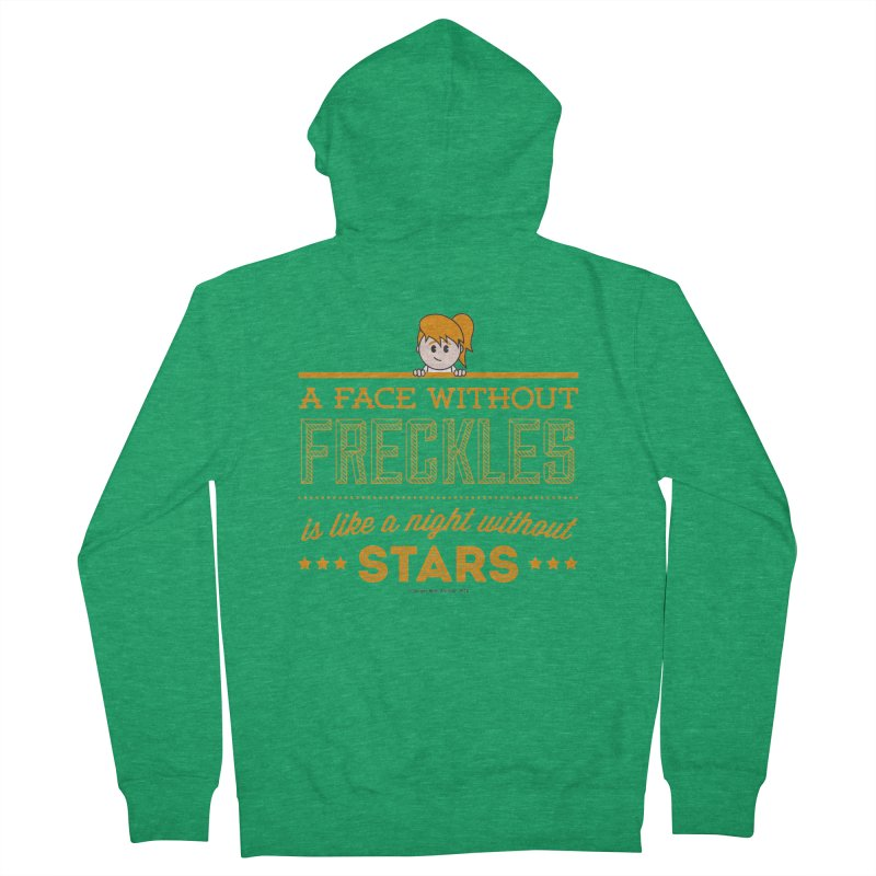 Stars Women's Zip-Up Hoody by Ginger With Attitude's Artist Shop
