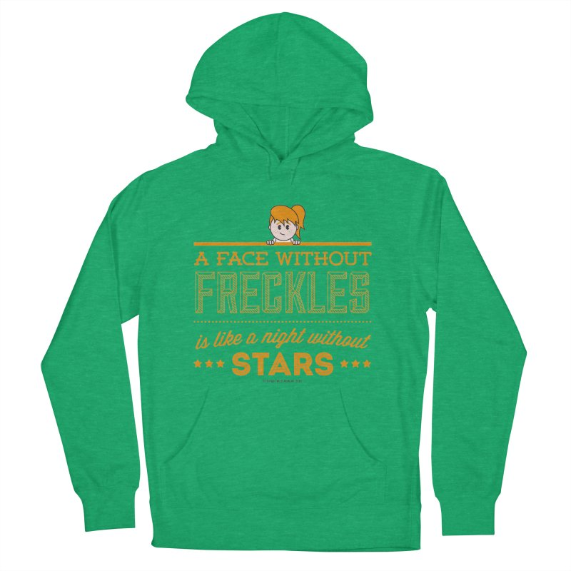 Stars Women's French Terry Pullover Hoody by Ginger With Attitude's Artist Shop