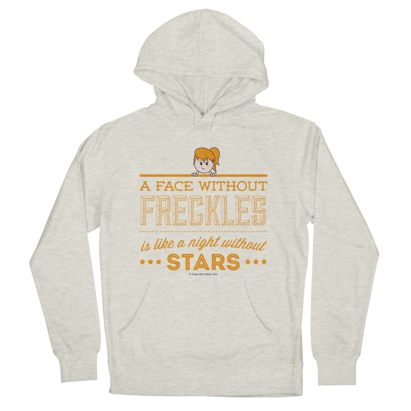 Stars Men's French Terry Pullover Hoody by Ginger With Attitude's Artist Shop