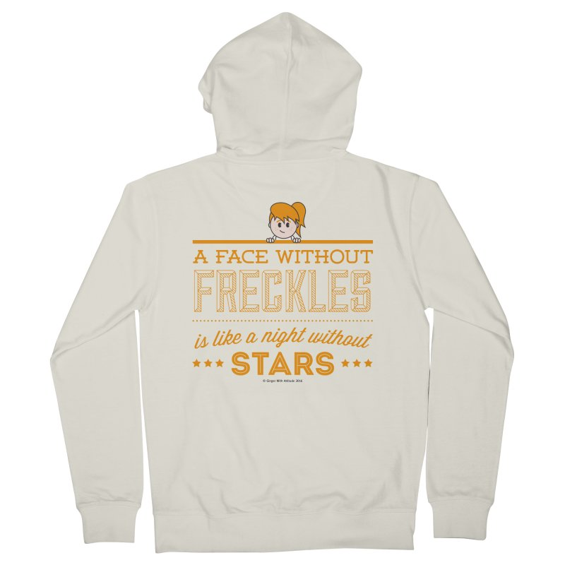 Stars Women's French Terry Zip-Up Hoody by Ginger With Attitude's Artist Shop