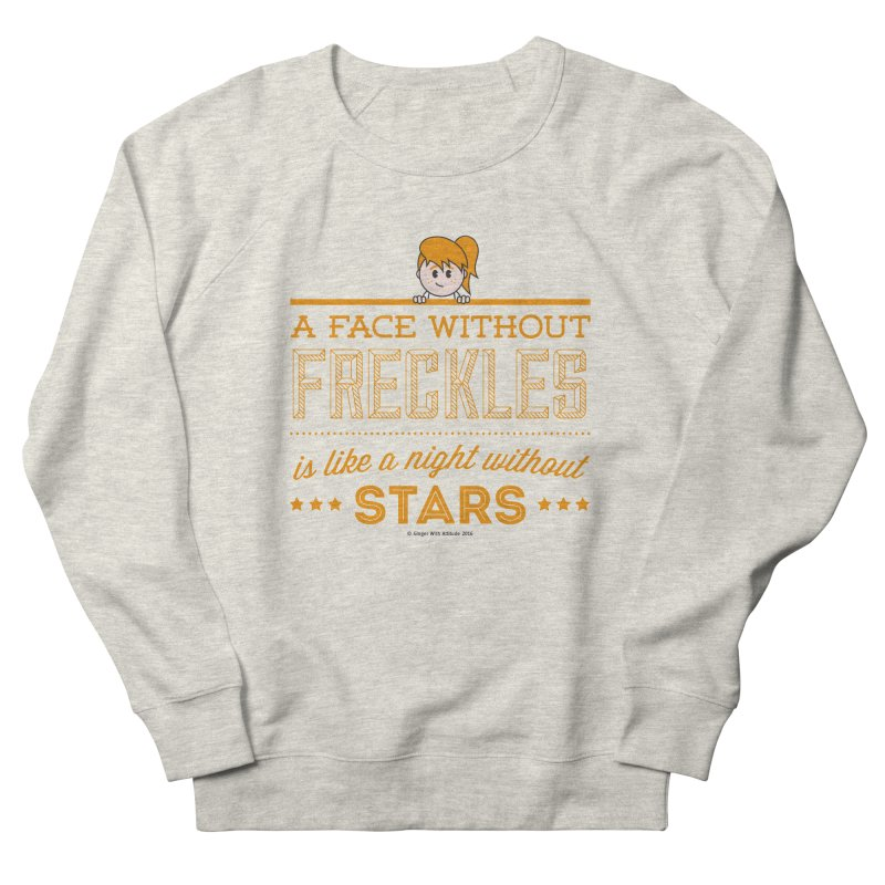 Stars Women's French Terry Sweatshirt by Ginger With Attitude's Artist Shop