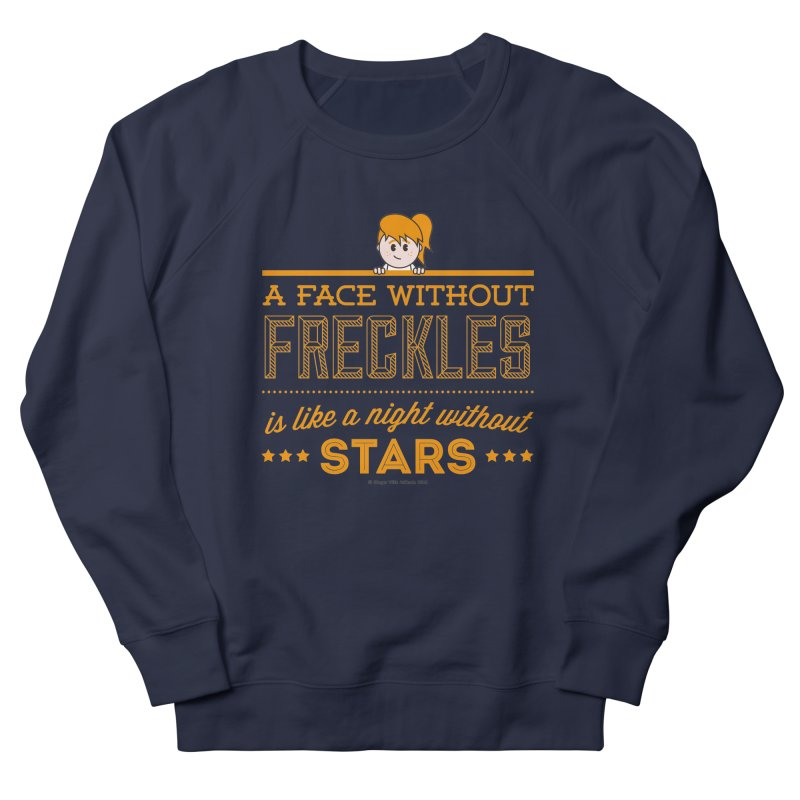 Stars Men's French Terry Sweatshirt by Ginger With Attitude's Artist Shop