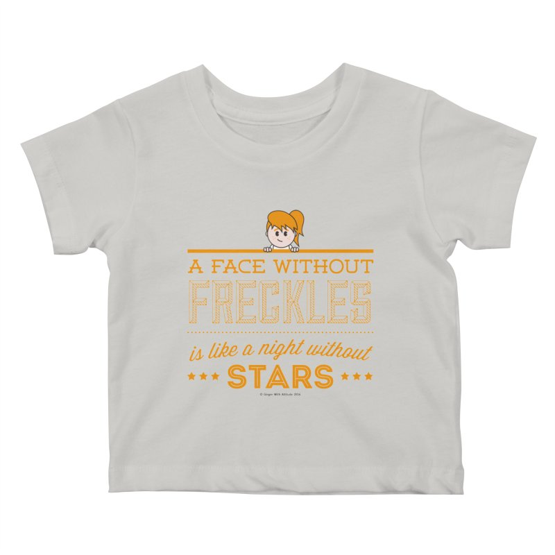 Stars Kids Baby T-Shirt by Ginger With Attitude's Artist Shop