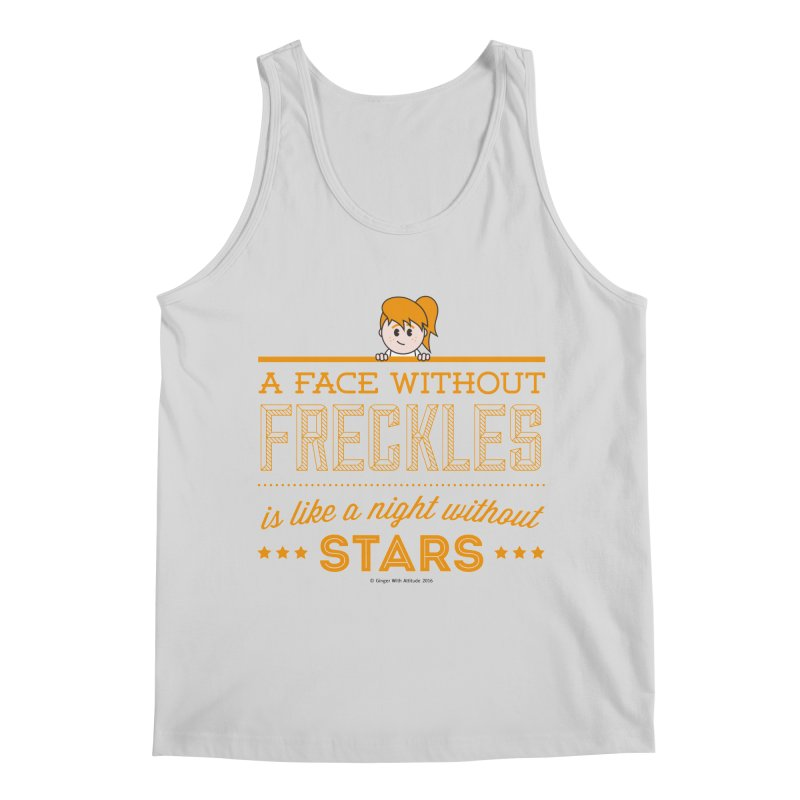Stars Men's Regular Tank by Ginger With Attitude's Artist Shop