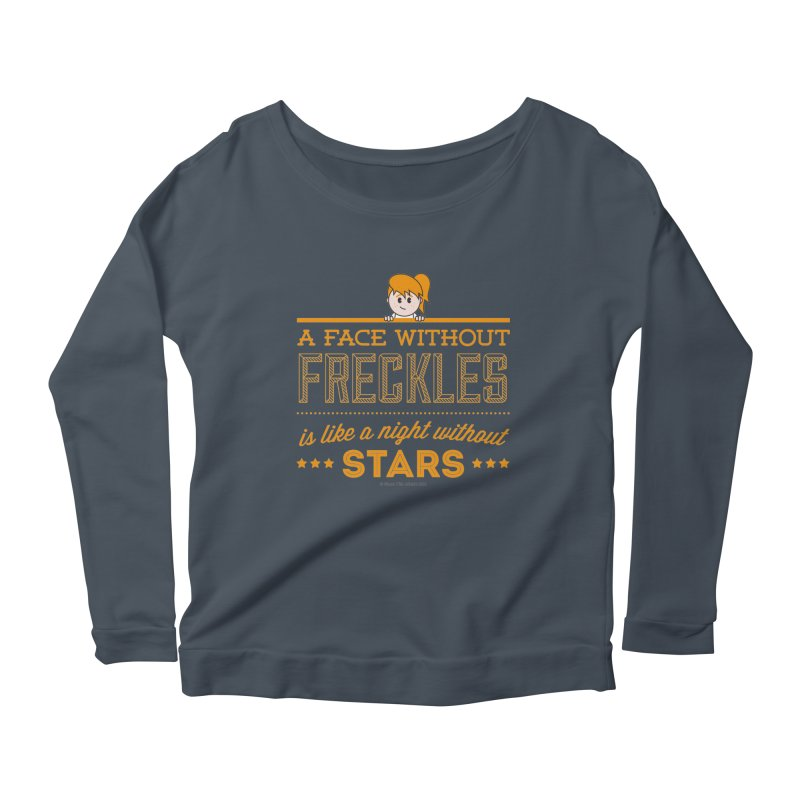 Stars Women's Longsleeve Scoopneck  by Ginger With Attitude's Artist Shop
