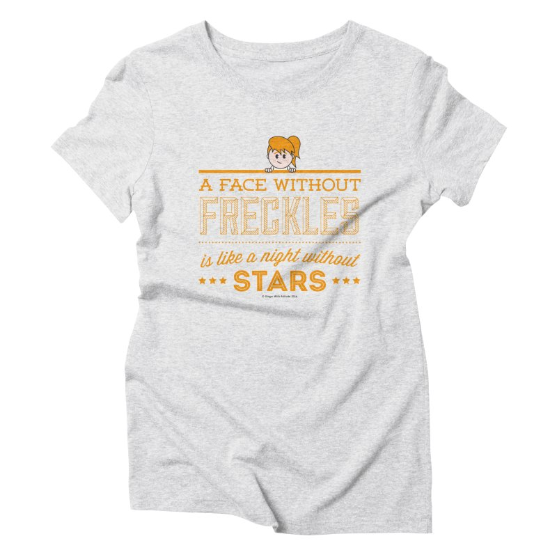 Stars Women's Triblend T-shirt by Ginger With Attitude's Artist Shop