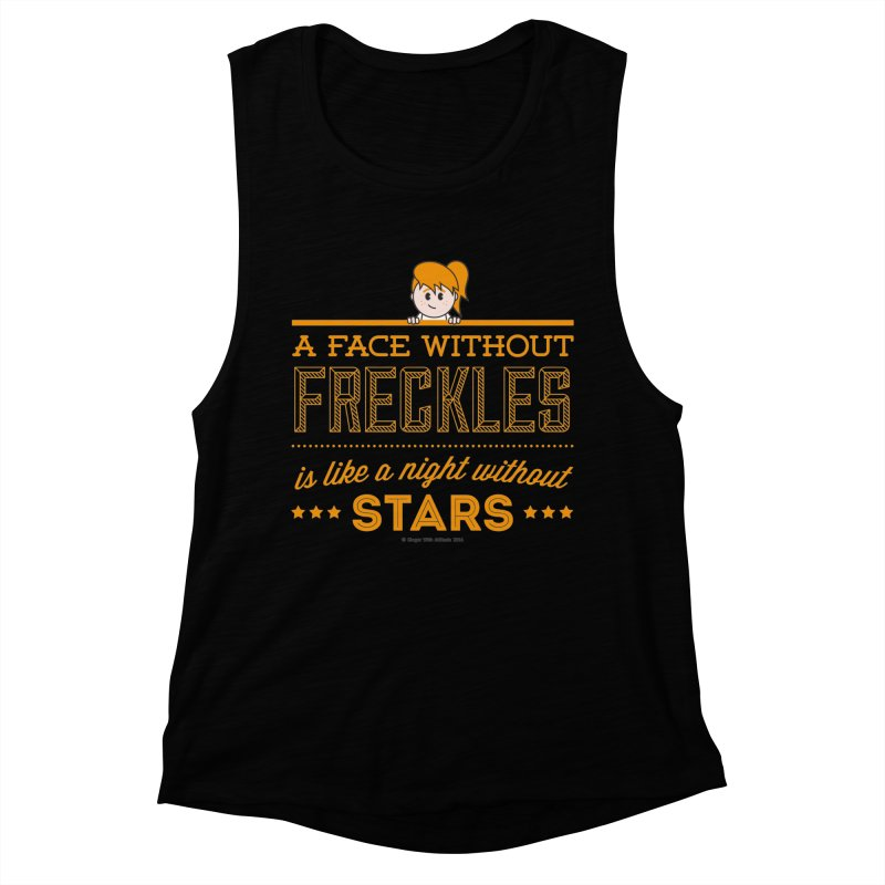 Stars Women's Muscle Tank by Ginger With Attitude's Artist Shop