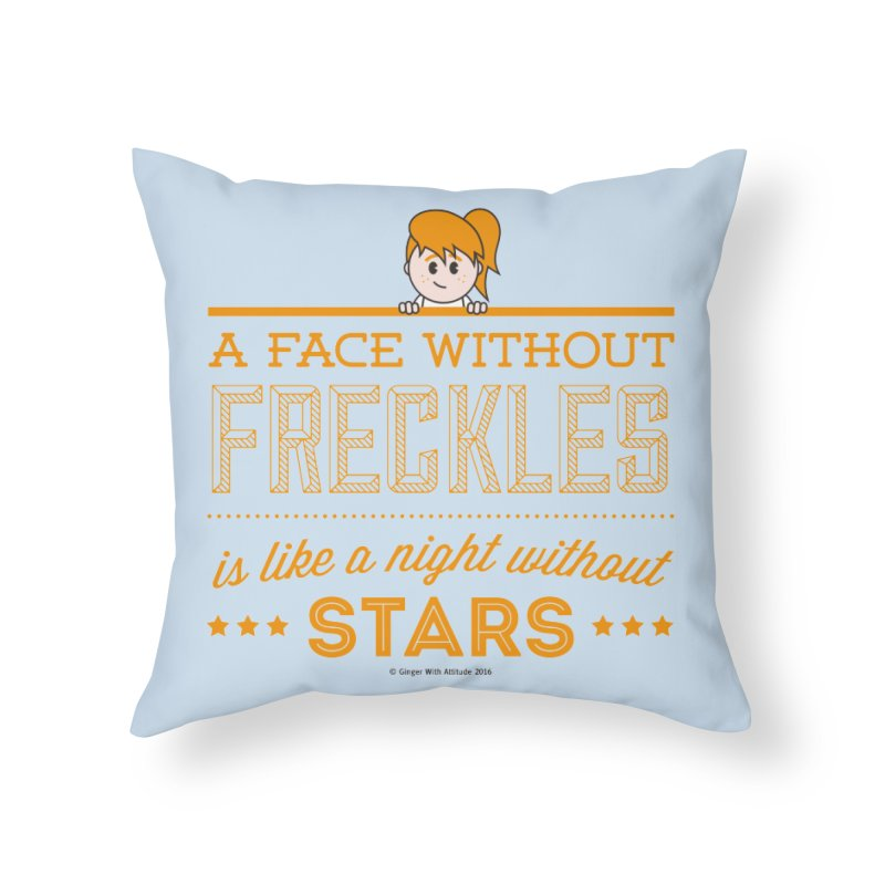 Stars Home Throw Pillow by Ginger With Attitude's Artist Shop