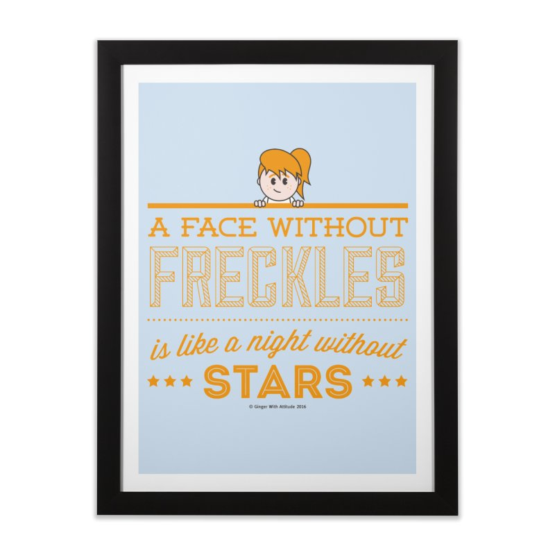 Stars Home Framed Fine Art Print by Ginger With Attitude's Artist Shop