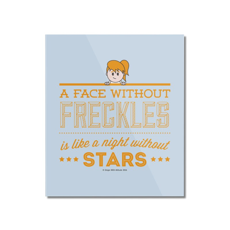 Stars Home Mounted Acrylic Print by Ginger With Attitude's Artist Shop