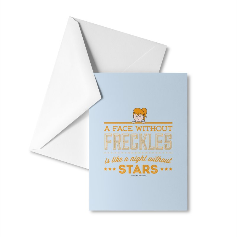 Stars Accessories Greeting Card by Ginger With Attitude's Artist Shop