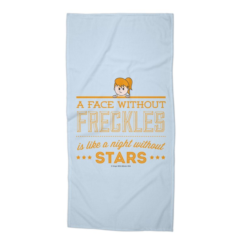 Stars Accessories Beach Towel by Ginger With Attitude's Artist Shop