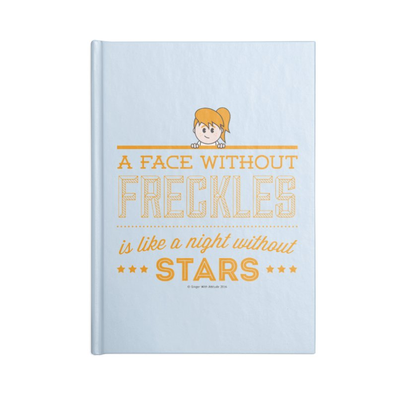 Stars Accessories Lined Journal Notebook by Ginger With Attitude's Artist Shop
