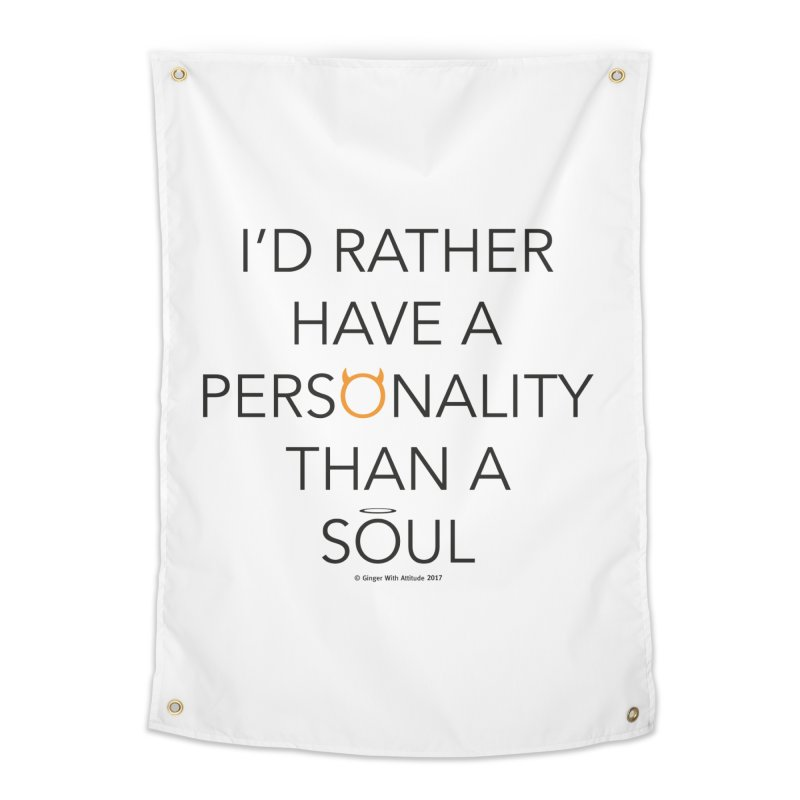 Personality vs Soul Home Tapestry by Ginger With Attitude's Artist Shop