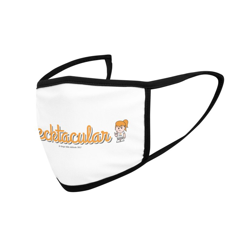 Frecktacular Girl Accessories Face Mask by Ginger With Attitude's Artist Shop