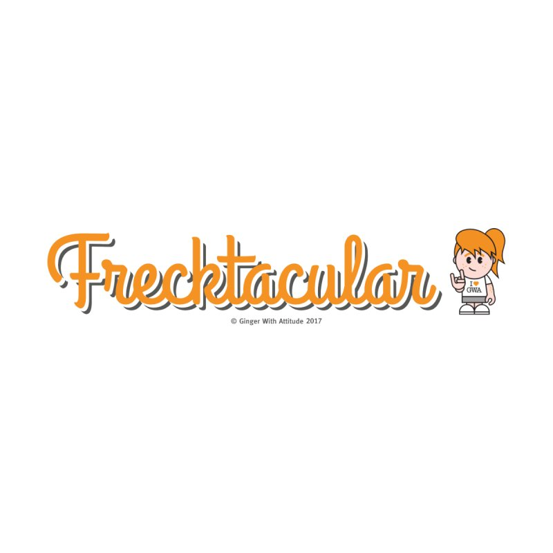 Frecktacular Girl Accessories Sticker by Ginger With Attitude's Artist Shop