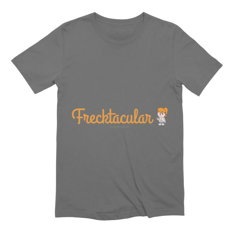 Frecktacular Girl Men's T-Shirt by Ginger With Attitude's Artist Shop