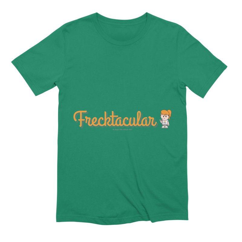 Frecktacular Girl Men's Extra Soft T-Shirt by Ginger With Attitude's Artist Shop