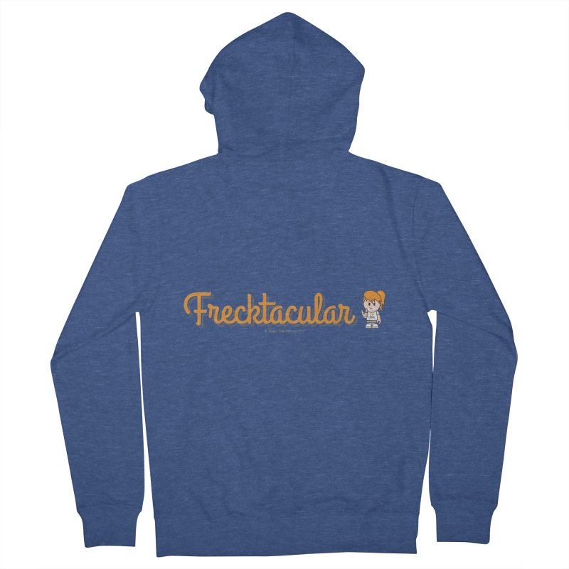 Frecktacular Girl Women's French Terry Zip-Up Hoody by Ginger With Attitude's Artist Shop