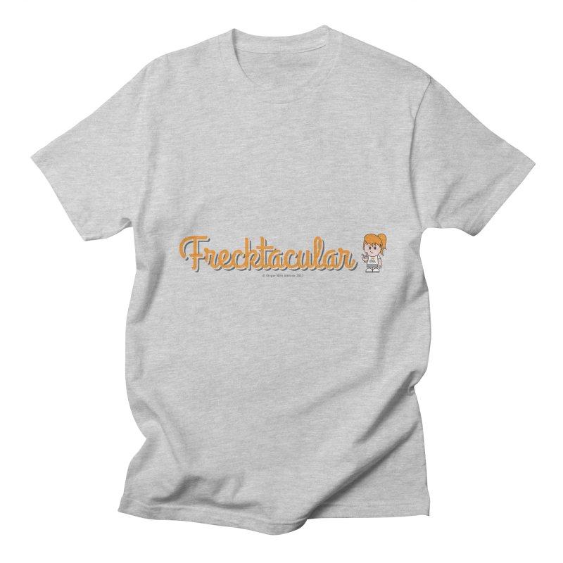Frecktacular Girl Women's Regular Unisex T-Shirt by Ginger With Attitude's Artist Shop