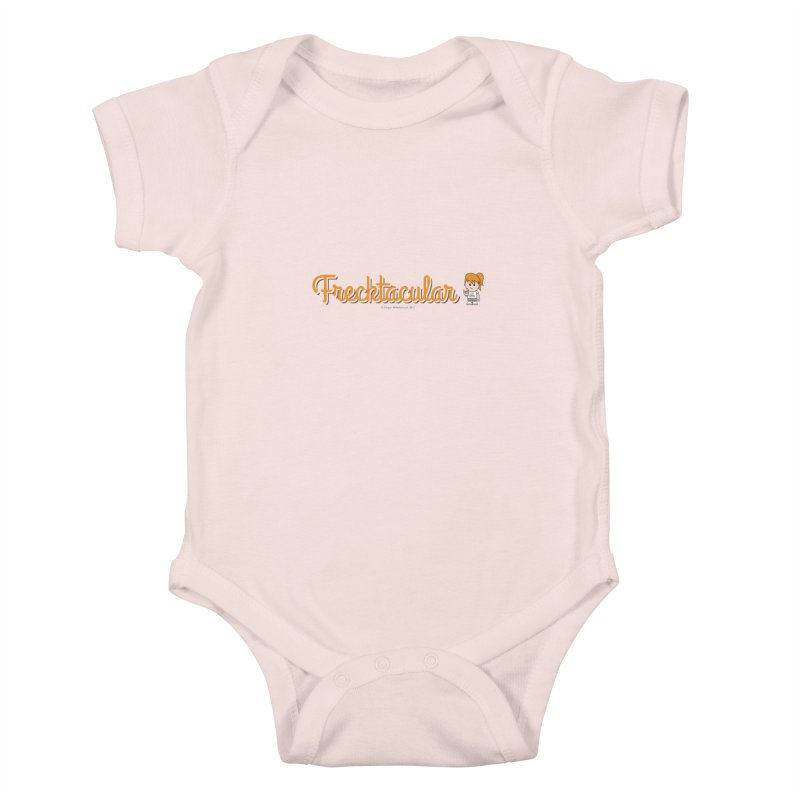 Frecktacular Girl Kids Baby Bodysuit by Ginger With Attitude's Artist Shop